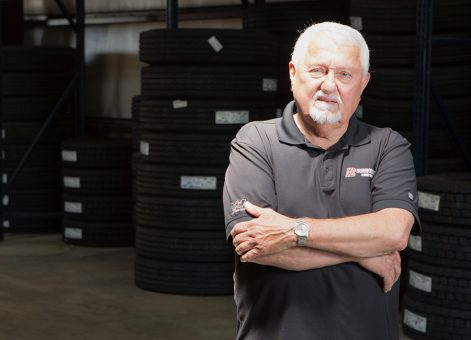 Buddy Blackledge, Tire Sales Manager