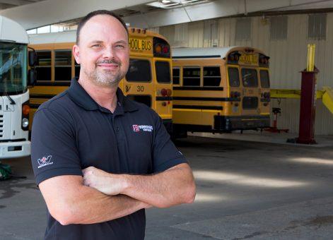 Daniel Harris, Bus Parts & Service Manager - Burroughs Companies
