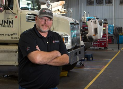 Larry Meenach, Truck Service Manager - Burroughs Companies